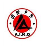 ISAMU AIKO ASHIHARA II Logo borduring