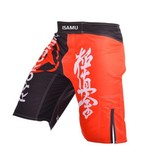 ISAMU 勇ISAMU KYOKUSHIN FIGHT BROEK - Black/Red | OP = OP