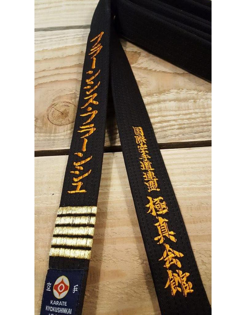 ISAMI ISAMI IKO KYOKUSHINKAI BLACK BELTS