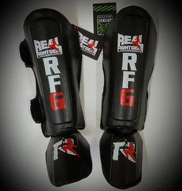 REAL FIGHTGEAR (RFG) SHINGUARD-SGBB1-BLACK