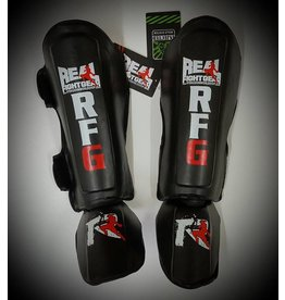 REAL FIGHTGEAR (RFG) SHINGUARD-SGBB1-BLACK