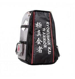 "ISAMUFIGHTGEAR Embrodered ""Kyokushin warrior backpack / duffel bag"""