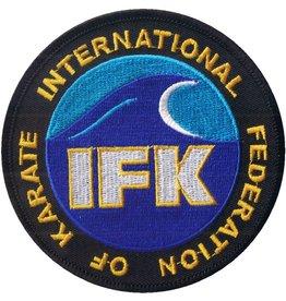 ISAMUFIGHTGEAR INTERNATIONAL FEDERATION OF KARATE (IFK) LOGO BORDURING