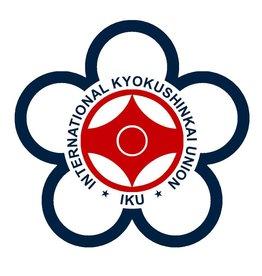 ISAMU IKU INTERNATIONAL KYOKUSHINKAI UNION  LOGO EMBROIDERY