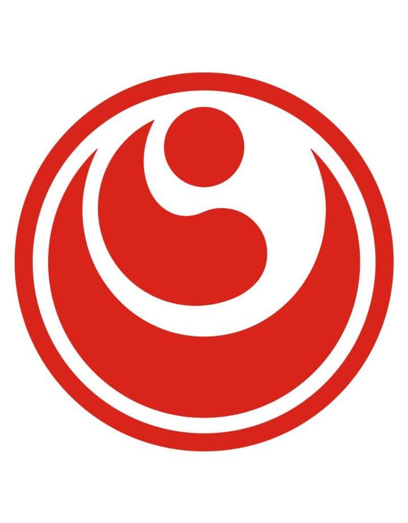SHINKYOKUSHINKAI KOKORO SIGN EMBROIDERY-RED