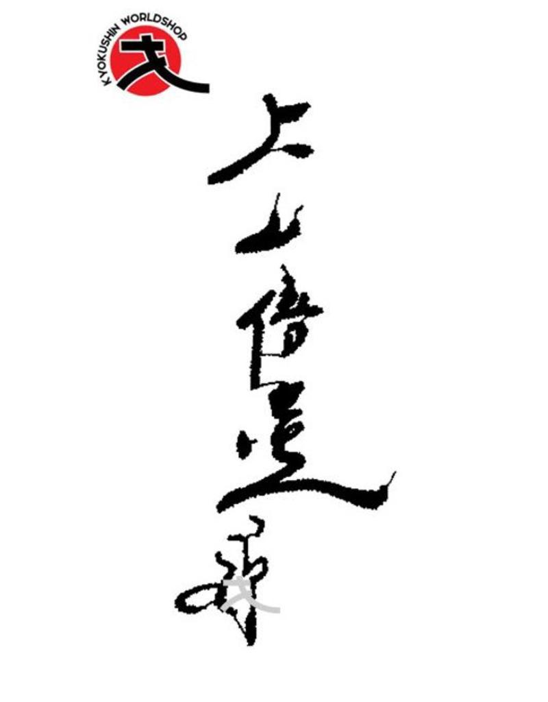 ISAMU 勇ISAMU MAS OYAMA KIGÔ KYOKUSHINKAI FULL CONTACT KARATE GI