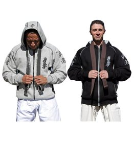 ISAMU 勇ISAMU KYOKUSHIN WARRIOR FULL ZIP HOODY