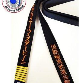ISAMU IBK KYOKUSHIN BUDOKAI  BLACK BELT
