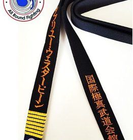 ISAMU IBK KYOKUSHIN BUDOKAI  ZWARTE BAND - ALL ROUND FIGHTING