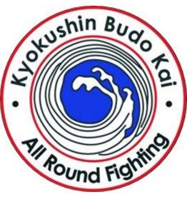 ISAMUFIGHTGEAR IBK KYOKUSHINKAI BUDOKAI - ALL ROUND FIGHTING LOGO BORDURING