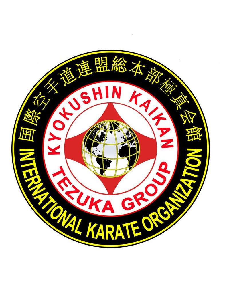 ISAMU IKO4 TEZUKA GROUP KYOKUSHIN KAIKAN LOGO EMBROIDERY