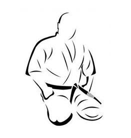 ISAMUFIGHTGEAR Mas.Oyama borduring - Seiza Houding