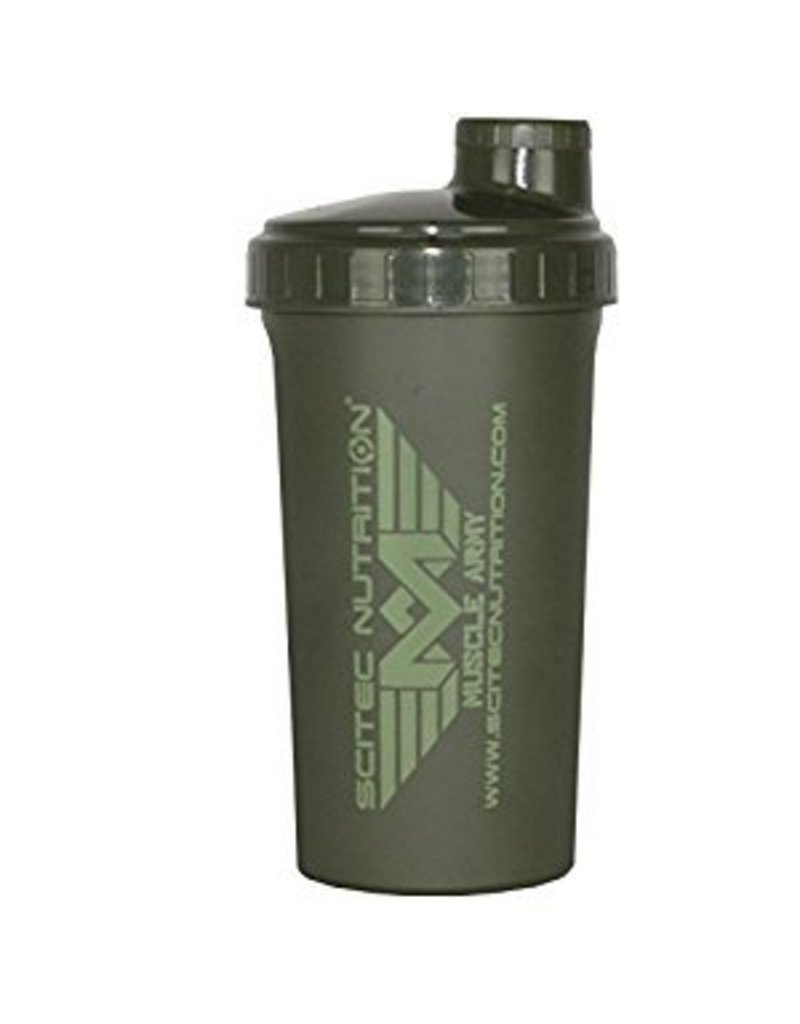 SCITEC NUTRITION Scitec Shaker muscle Army groen