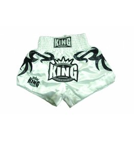 King Professional King kickbox tribal short white XL