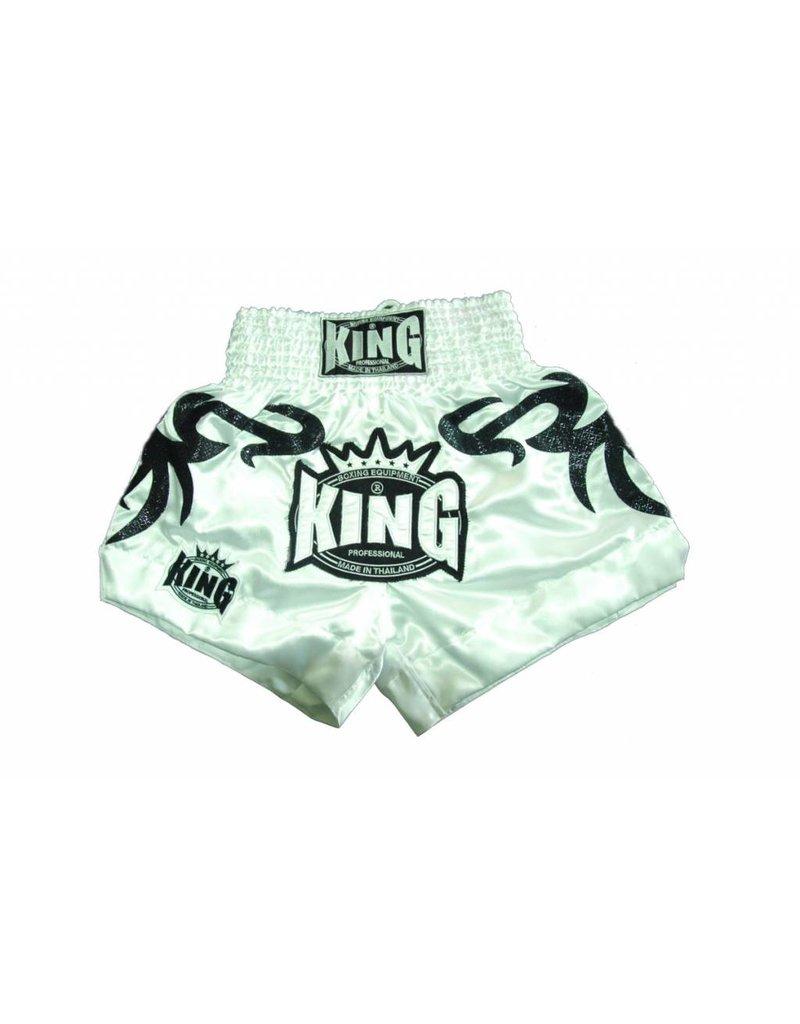 King Professional King kickboks tribal broekje wit XL