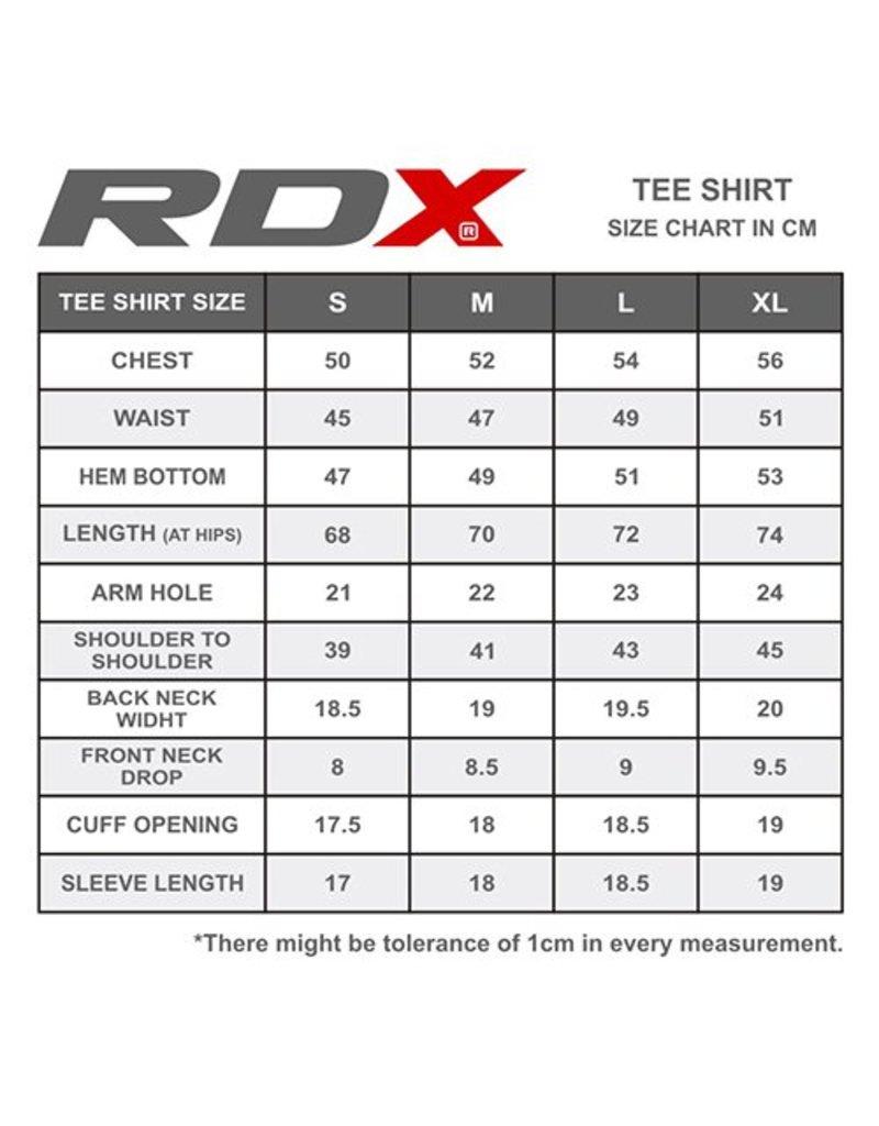 RDX SPORTS T-shirt R1 Rood
