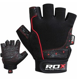 RDX SPORTS Gym glove Armara red stone Woman