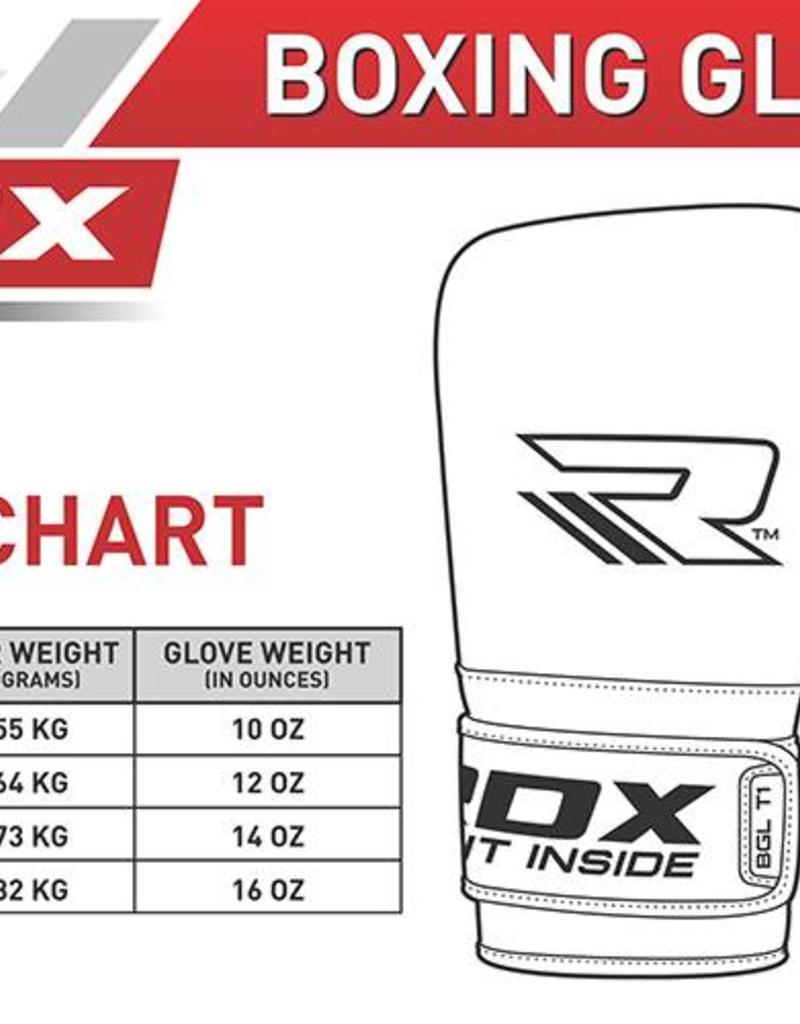 RDX SPORTS ELITE BOXING GLOVES BY RDX-BGL-T1