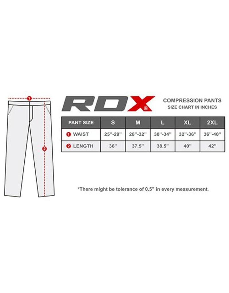 RDX SPORTS Compressie Broek Multi Nieuw