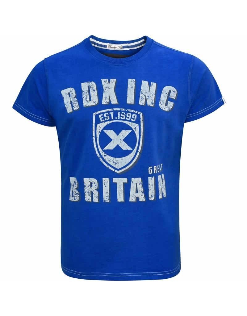 RDX SPORTS Clothing TShirt R3 Blue