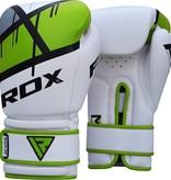RDX SPORTS (Kick)Boxing glove F7 - green & red
