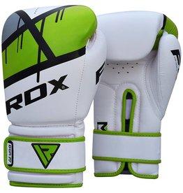 RDX SPORTS (Kick)Boks handschoenen F7 - groen & rood
