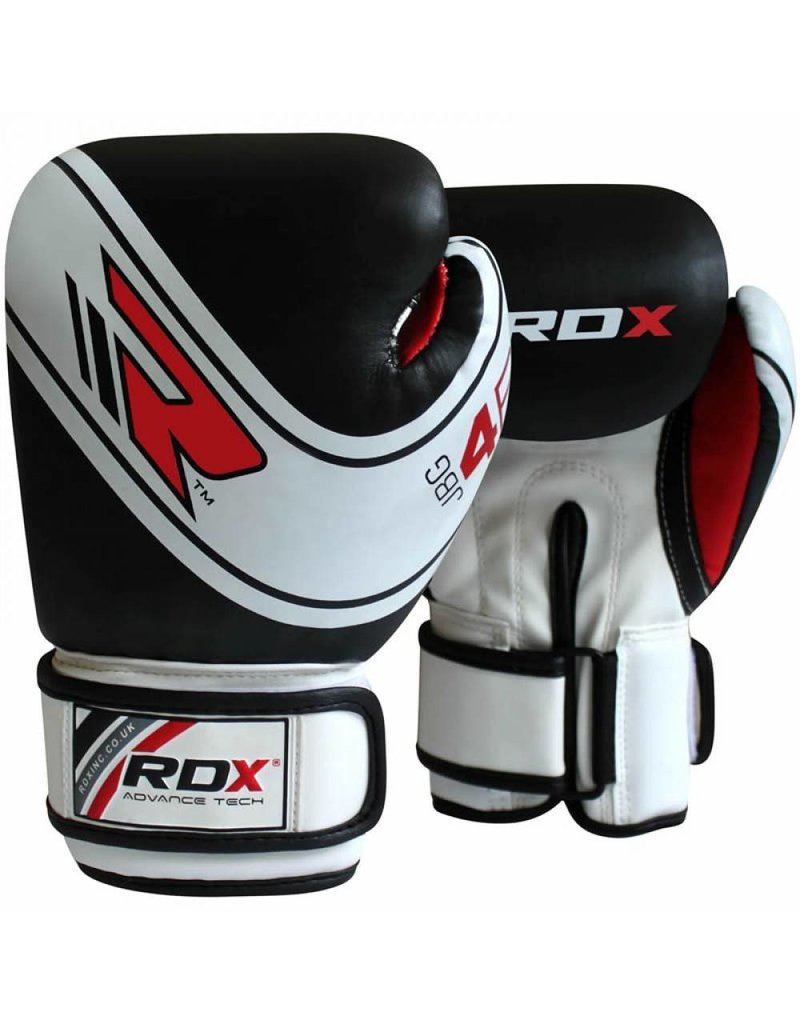 RDX Boxing Gloves Shin Guard Training kickboxing Black Head Guard MMA Gloves