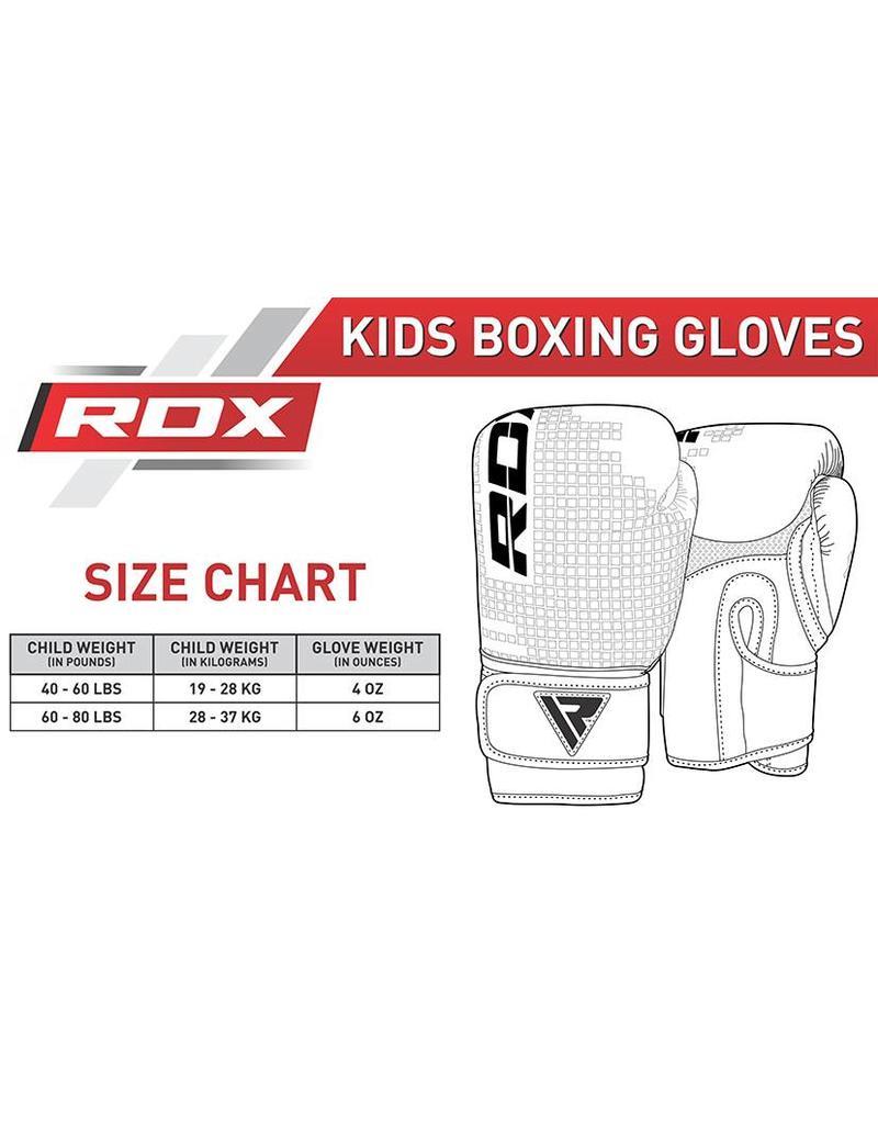 RDX SPORTS (Kick)Bokshandschoenen kinderen - zwart/groen