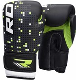 RDX SPORTS (Kick)Boxing Glove Kids - black/green