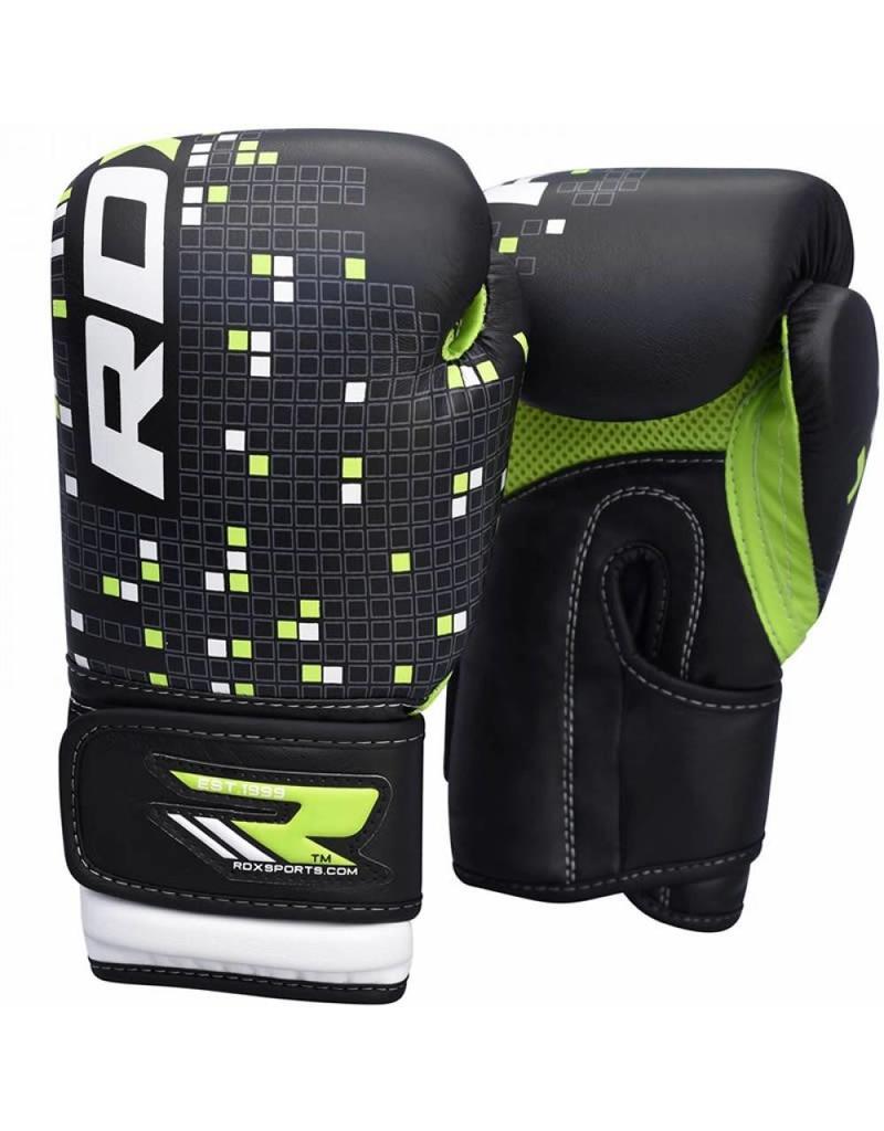 RDX SPORTS (Kick)Boxing Glove Kids - black/green
