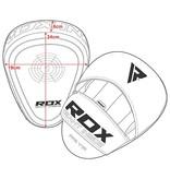 RDX SPORTS RDX T1 BOKS PADS - ROOD