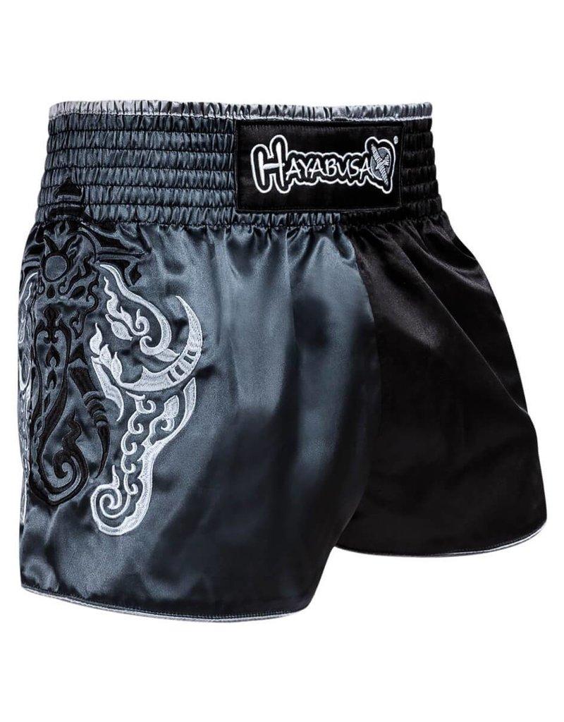 HAYABUSA Wisdom Muay Thai (kick) boxing shorts - grijs