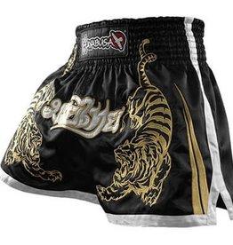 HAYABUSA Premium Muay Thai (kick)boxing Shorts - Black