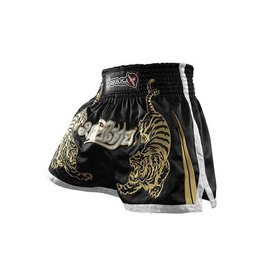 HAYABUSA Premium Muay Thai (kick)boxing Shorts - Black