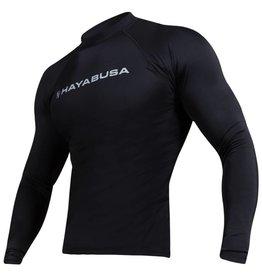 HAYABUSA Haburi lange mouwen Rashguard shirt - Black