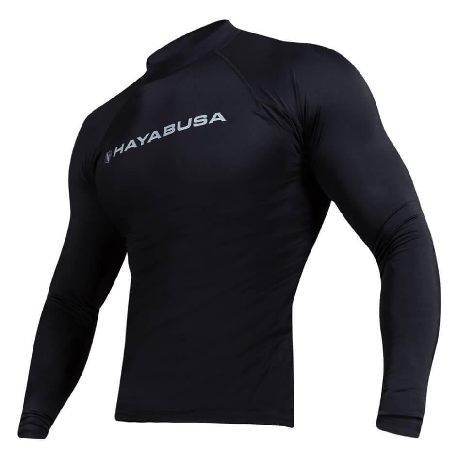 Black Hayabusa Haburi Breathable Wicking Compression Shorts