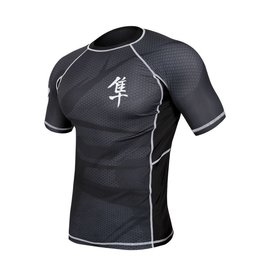HAYABUSA Rashguard Metaru Short sleeve - Black