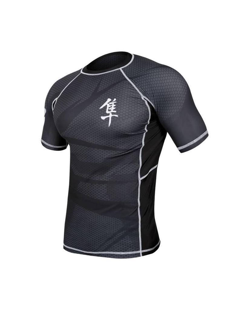 HAYABUSA HAYABUSA Rashguard Metaru Short sleeve - Black