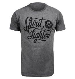 HAYABUSA Classic Spirit of the Fighter Shirt - Grijs