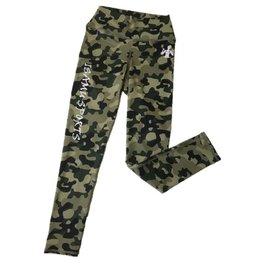 Isamu sportswear Isamu Camo Green Sports Legging