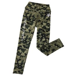 Isamu sportswear Isamu Camo Groen Sport Legging