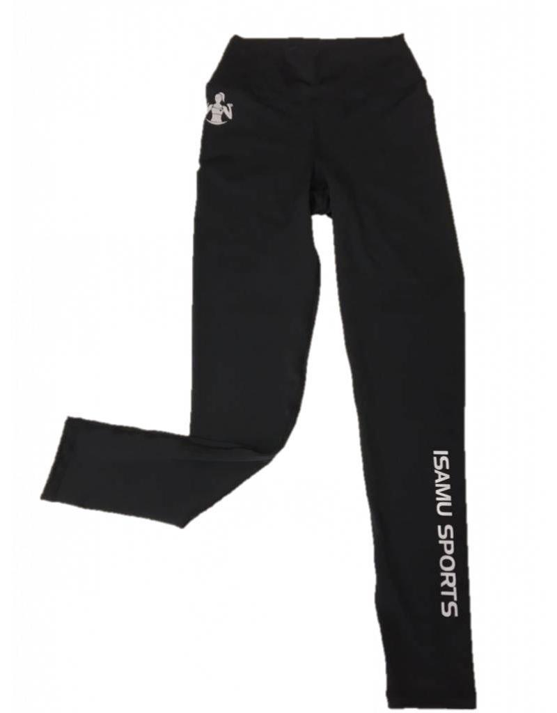 ISAMU Isamu zwarte Sport legging