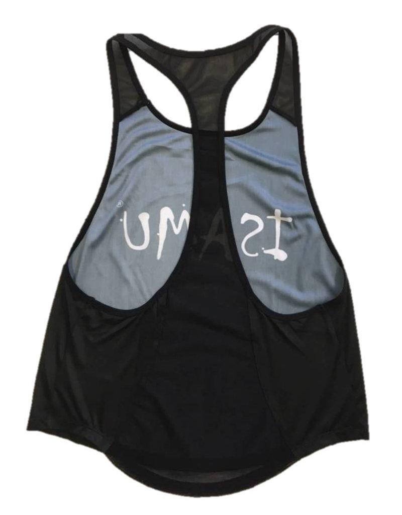 Isamu sportswear Isamu Swing Fit Sport Top - Zwart