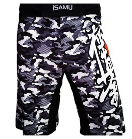 ISAMU 勇ISAMU Kyokushin Shorts - Camo Grijs OP=OP