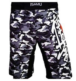 ISAMUFIGHTGEAR Isamu Kyokushin Shorts- Camo grey