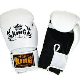 King Professional (Kick)Boxing Gloves Super Air White