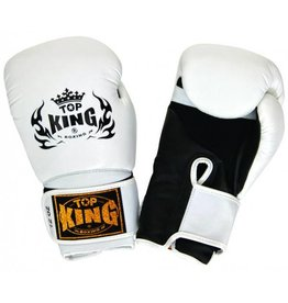 King Professional (Kick)Boxing Gloves Super Air White