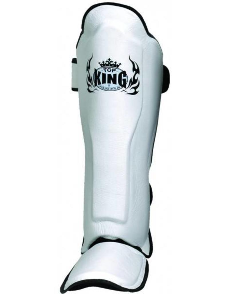 King Professional Shinguard Pro White