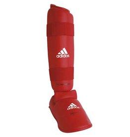 Adidas WKF Scheenbeschermer Met Verwijderbare Voet/Rood