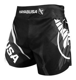 HAYABUSA Muay thai kickboxing shorts 2.0 black - While supplies last